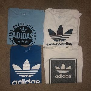 Adidas T-Shirt Lot of 4
